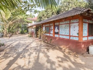 A restful stay for backpackers, 900 m from Anjuna Beach
