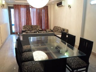 Private AC room in apartment