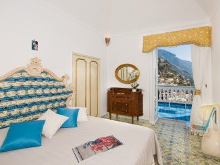 Luxury VILLA MON REPOS in Positano center with sea view and swimming pool