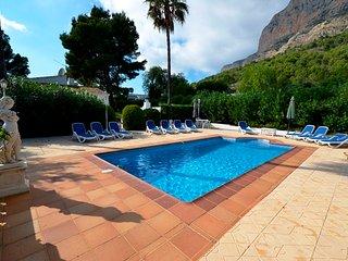 6 bedroom Casa Ladera Villa   south facing Montgo , Tennis court. Near Beach ,