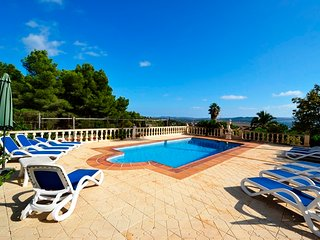 6 bedroom Casa Ladera Villa   south facing Montgo , Tennis court. Near Beach ,
