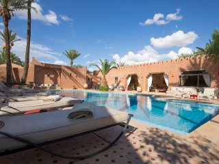 Villa with 10 rooms in Marrakech, with private pool, enclosed garden and WiFi