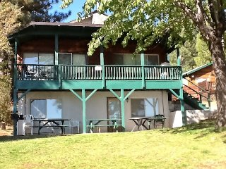 Large family friendly, dog friendly cabin on lake with boat ramp and dock