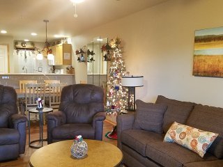 *Christmas Tree*2 BR Walk-In*Lake Condo*2 Kings*BBQ Grill*Boat Rentals