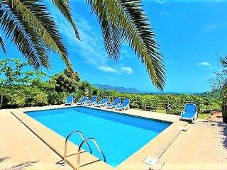 ES RAFAL DE BAIX- Finca in Son Servera. Private pool. BBQ. Sat TV - Free Wifi