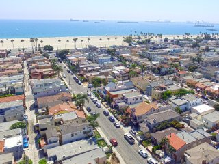 Aerial photo from Casa facing Pacific Ocean