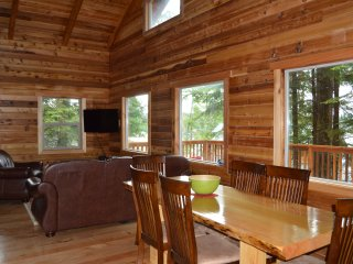 Cabin, car and boat vacation package