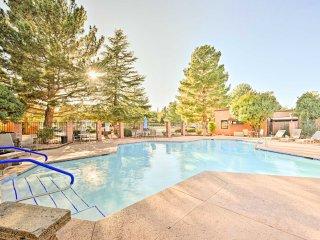 NEW! 2BR Oak Creek Condo w/ Pool Access & Patio!