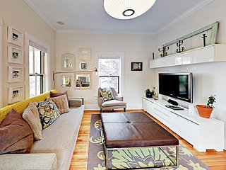 Remodeled 3BR Munjoy Hill w/ Home Theater, 2 Blocks to Eastern Promenade