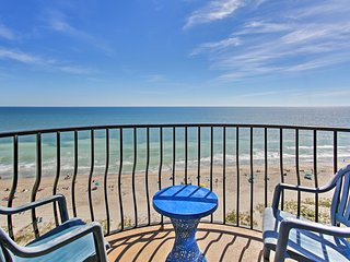 Oceanfront Condo w/View, Top Myrtle Beach Location