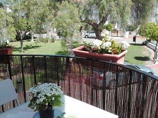 Terrace a 100m del mar y15 min de valencia+wifi+parking