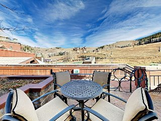 Ski-In, Ski-Out! 2BR, 3BA Beaver Creek Condo in Village Hall Complex