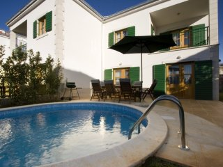 Luxury Villa Green Pharos with pool by the sea on island of Hvar