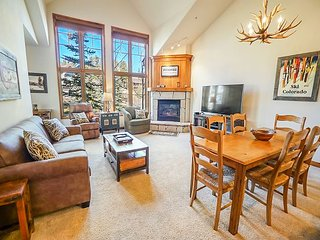 Riverbend 219 Condo Ski-in Ski-out Breckenridge Vacation Rental