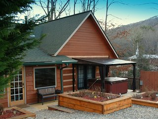 White Oak View - three bedroom log cabin in heart of Nantahala, NC