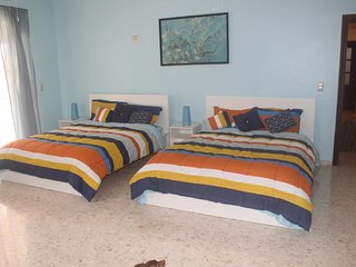 Sunhouse Samana Double Room Blue Free wifi and breakfast