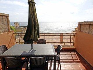 Apartamento Barlovento con terraza y vistas al mar