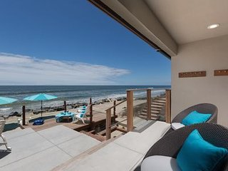 Spacious, On the Sand, Private Beachfront Home with a HUGE Sandy Beachfront