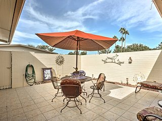 Quaint Sun City West Resort Condo w/Private Patio!