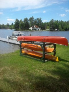 2 Kayaks and 1 Canoe included