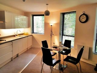 Modern Second Floor Apartment Overlooking Cheltenham High Street