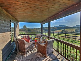 NEW! 5BR Purgitsville House w/104 Acres & Fire Pit