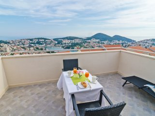 Apts Villa Dadić - Comfort One Bedroom Apt with Terrace and Sea View A3+2 - ATP3