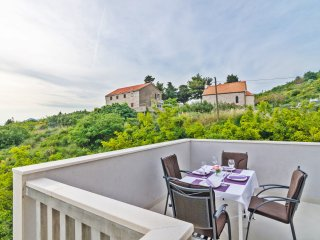 Apts Villa Dadić - Comfort One Bedroom Apt with Terrace and Sea View A3+1 - APT5