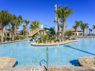 Villa near Disney World 9 miles!!  On-site cinema - lazy river - golf - game rm