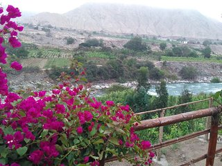 Casa de Campo con Vista al Rio - Lunahuana