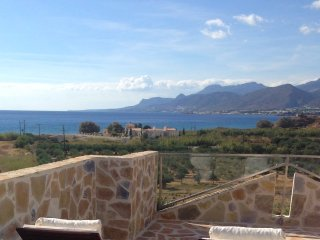 Lagada Resort Crete Penthouse 12P with roof garden, sea and pool view