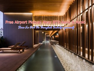 New Luxury 1BR/Nana/Asok BTS/Infinity Pool/FREE Airport Pick up!