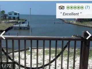 Baycation 4 BR/2BA - Bay Front w/Kayak-April-May Specials