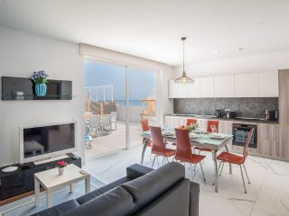 Kitchen Living and Dining area