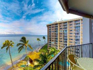 Valley Isle Resort #805: Oceanview, waterfront retreat w/ resort pool & beach