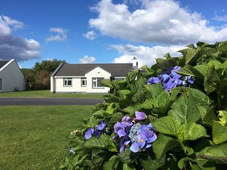 Galway holiday cottage on The Wild Atlantic Way, fabulous views over Galway Bay