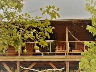Sanpopo Cottage A  Fully Equipped Self Catering Tree Top Cabin