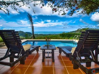 Panoramic Ocean View, Private Pool, Close to the beach!