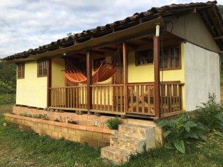 Acogedora cabaña al Sur de Ecuador - Piuntza