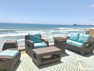 $1800/wk SALE Stunning Luxurious Oceanfront Vacation Villa, AC, Ocean View