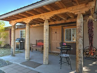 NEW! Charming 1BR Santa Fe Casita on 3 Acre Farm!