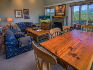 Ski in/ski out to Pony Express lift, see the views from your private hot tub!