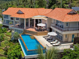 Villa Rocca, Luxury Seaview Villa, 5BR, Infinity Pool, Spa, Gym, Ko Samui