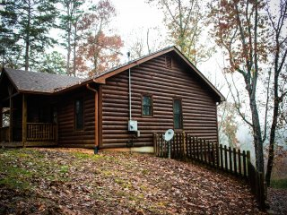 Gilead's Balm Cabin 2 bed 2 bath with wood & gas fireplaces hot tub ping pong!