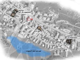 Centre Village, 100M des pistes, 3Ch, rénové 100% été 2017, 2 Parkings couverts.