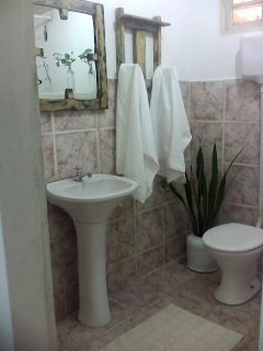 Chalé sol banheiro