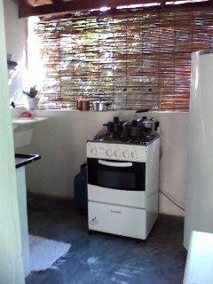 Chalé Sol cozinha