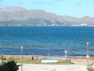 CAN PANSETA, chalet junto a la playa Alcudia para 5 adultos y hasta 3 ninos.