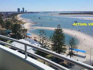 Beachfront 2 Bdrm Apt, OCEAN VIEWS 10th Floor