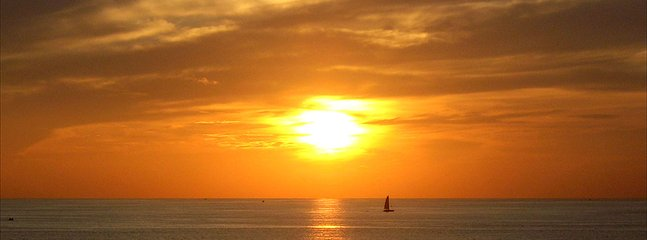 Sunset at Kata Beach from Kata Rocks